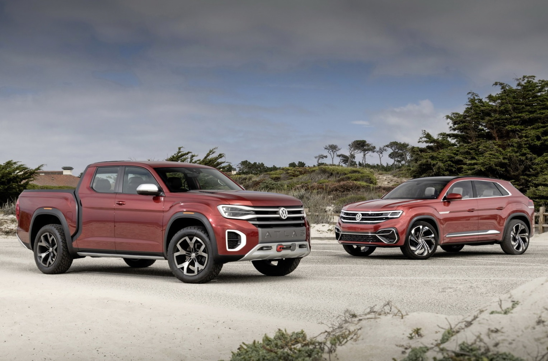 Volkswagen Atlas Cross Sport And Tanaok Concept At Pebble