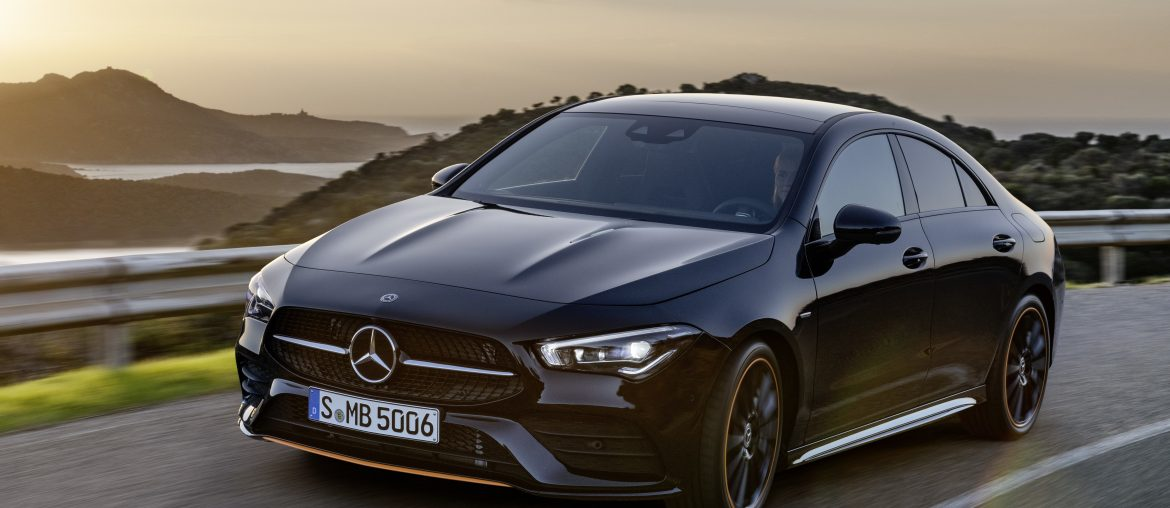 The new Mercedes-Benz CLA Coupé: World premiere at CES in Las Vegas
