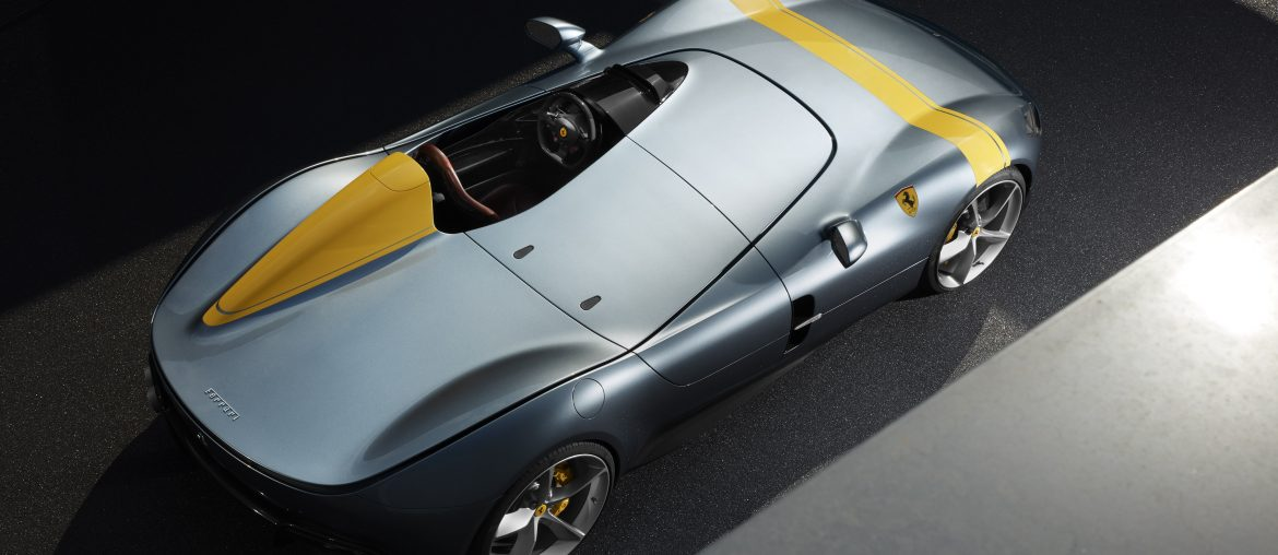 Ferrari Monza SP1 SP2 : Driving pleasure of the new concept of limited series 'Icona' cars