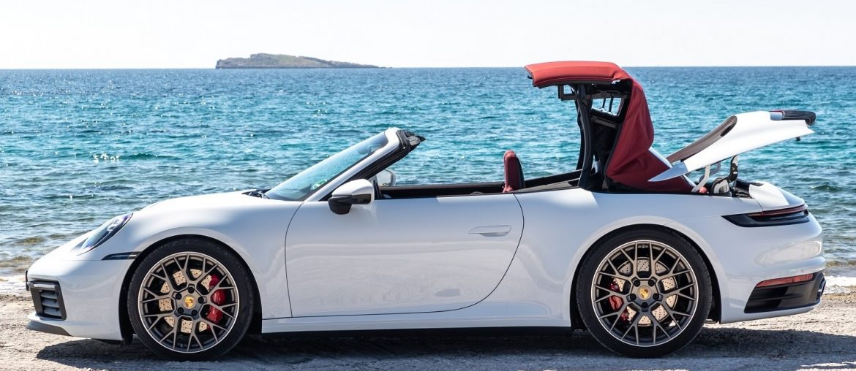 High-tech soft top for the new Porsche 911 Carrera Cabriolet