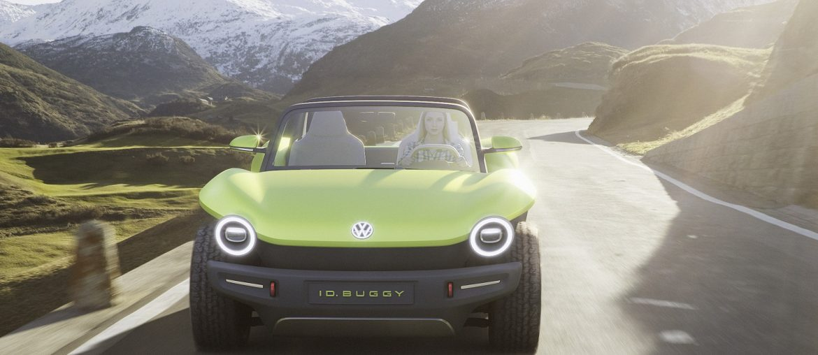 Buggy is back – based on the chassis of the legendary Beetle