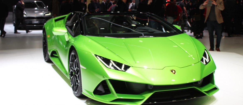 Lamborghini Huracan EVO Spyder unveiled at Geneva Motor Show