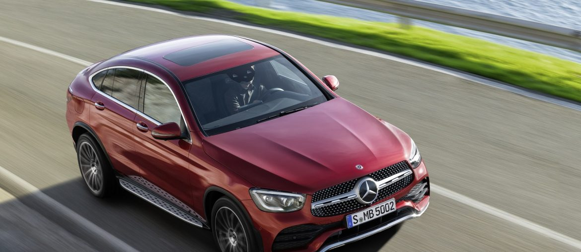 Mercedes-Benz GLC Coupe' unveiled in World Premiere