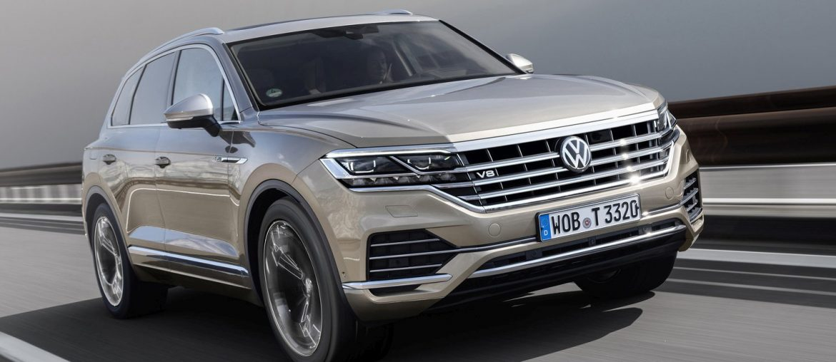 The new Tuareg V8 TDI – the most powerful SUV with a diesel engine