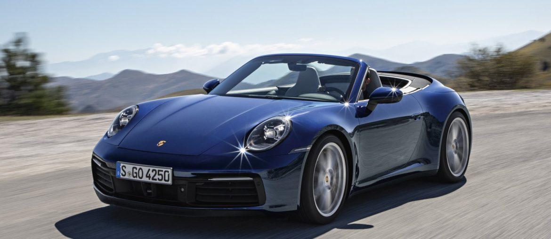 The new Porsche 911 Cabriolet – ready to open-air season