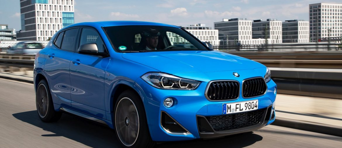 The new BMW X2 M35i in action – additional pictures