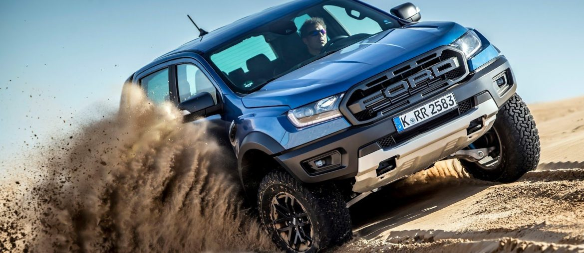 The new Ford Ranger Raptor for European thrill-seeking drivers in mid-2019.