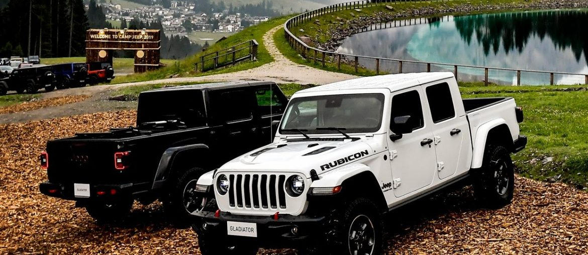 Jeep Gladiator – European preview at 2019 Camp Jeep