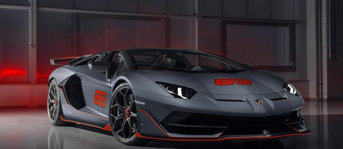 The Aventador SVJ 63 Roadster and the Huracán EVO GT Celebration at Monterey Car Week