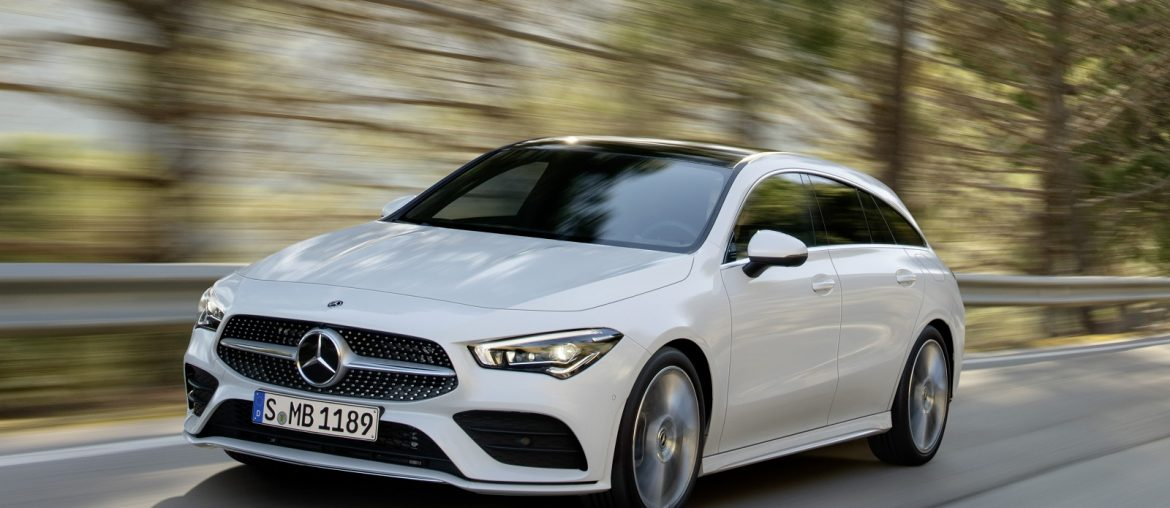 The All-New CLA Coupe Shootting Brake – Attractive, intelligent, practical..