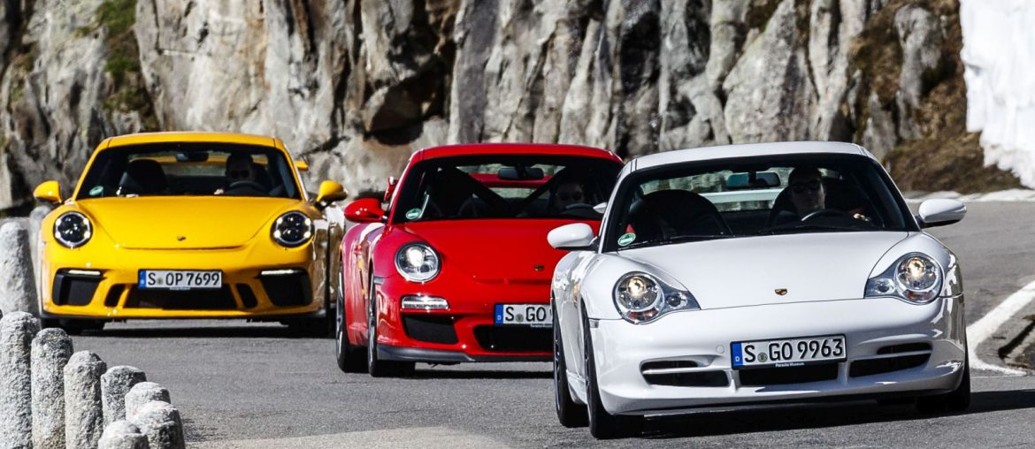 Porsche 911 GT3 celebrating 20 years of the most popular 911 among the purists