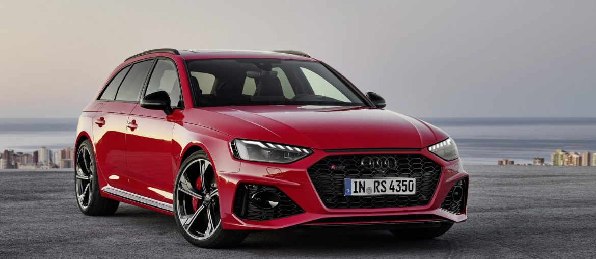 New Audi RS4 Avant with fine-tuned details