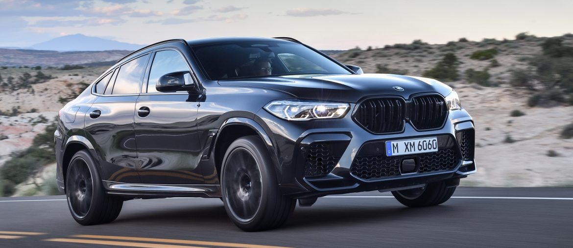 The new BMW X5 M and BMW X6 with Competition version at 2019 LA Auto Show