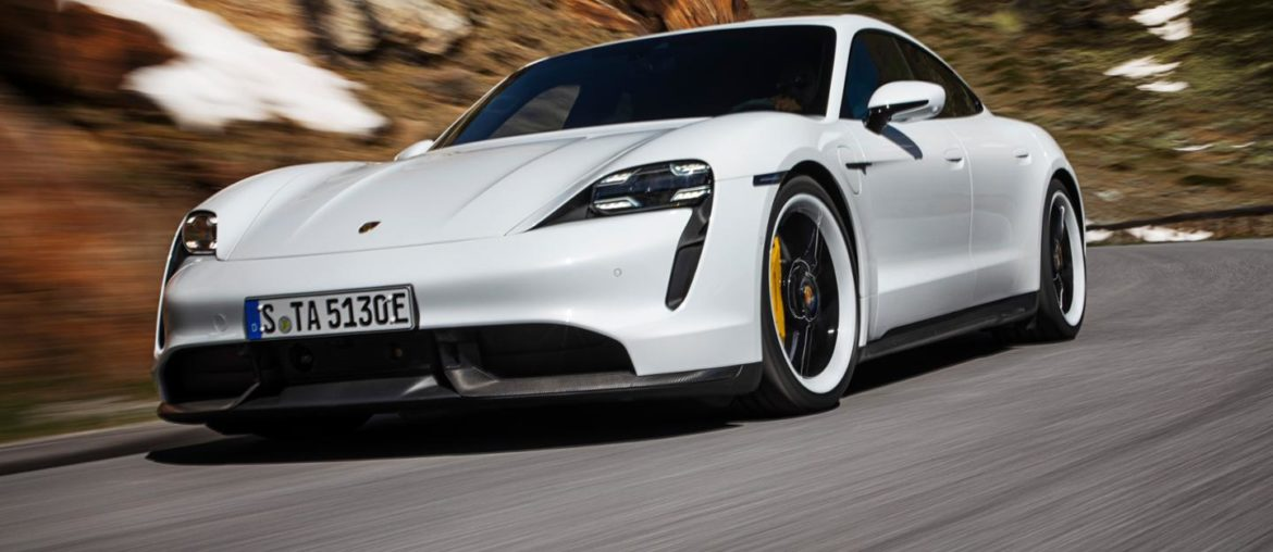The new Porsche Taycan – Performance Highlights