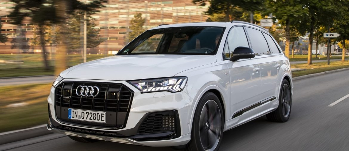 The Audi Q7 TFSI e : Luxury, space and efficiency:
