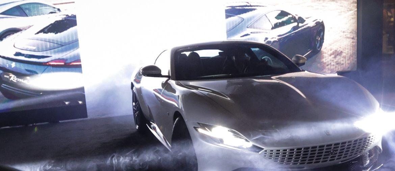 Ferrari Roma: Glamourous Middle East Premiere