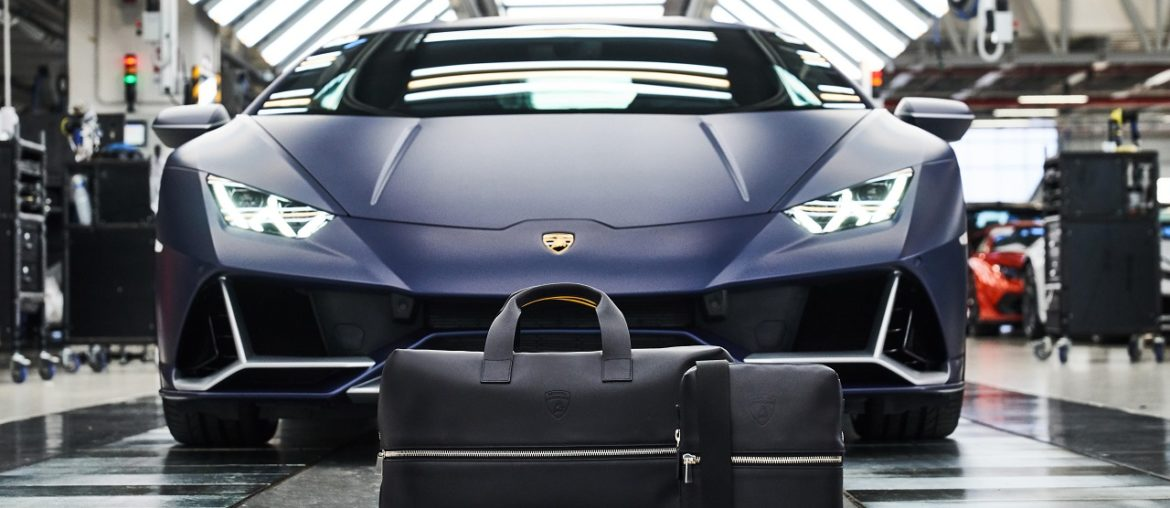 Automobili Lamborghini Leather Goods and Travel Collection