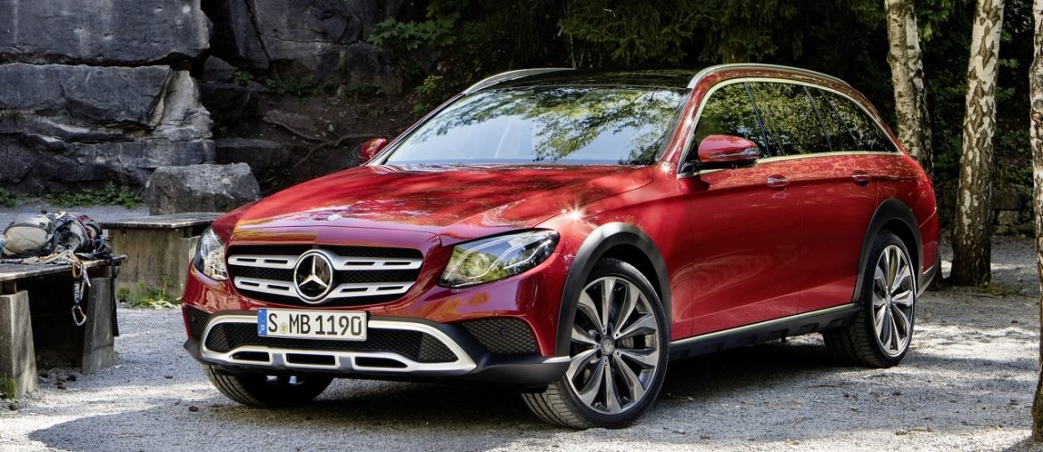 The new Mercedes-Benz E-Class All-Terrain closer to SUV than before