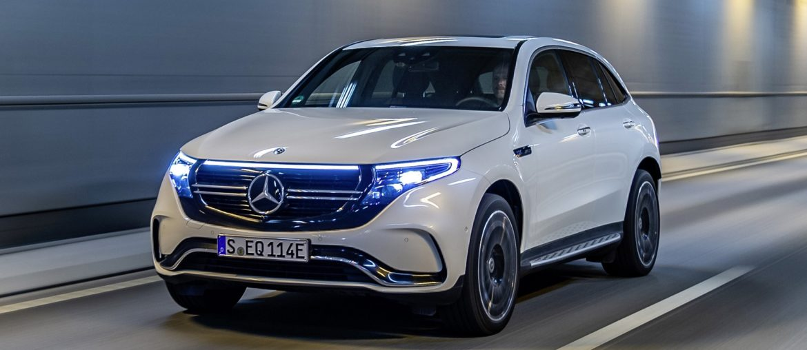 Mercedes-Benz EQC: Start the day 'fully charged'