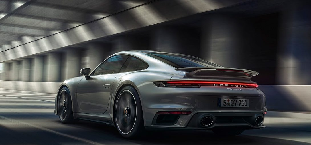 The new Porsche 911 Turbo S: Highlights