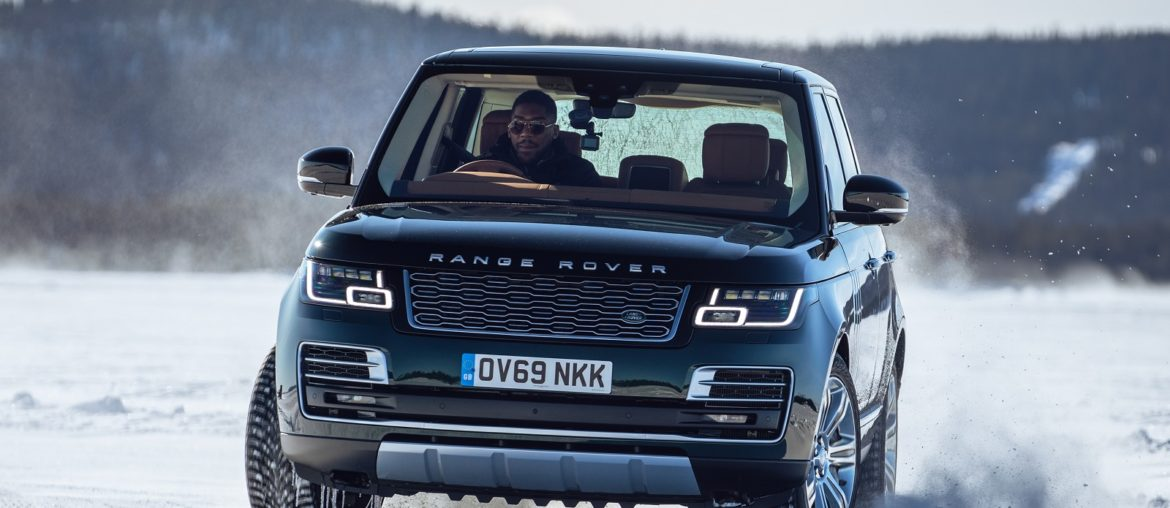 Land Rover and Anthony Joshua celebrating 50 Years of Range Rover