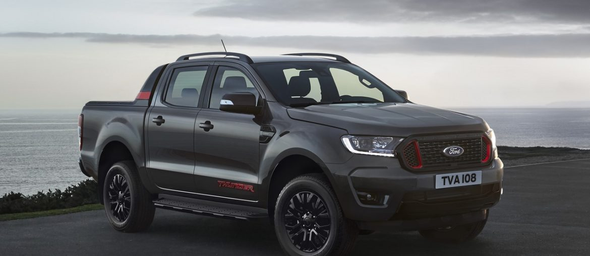 New Ford Ranger Thunder: Exclusive limited Edition