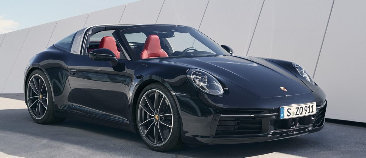 The new Porsche 911 Targa – in time for summer