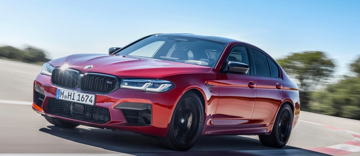 The new BMW M5 and BMW M5 Competition – high-performance sedans in even sharper form.