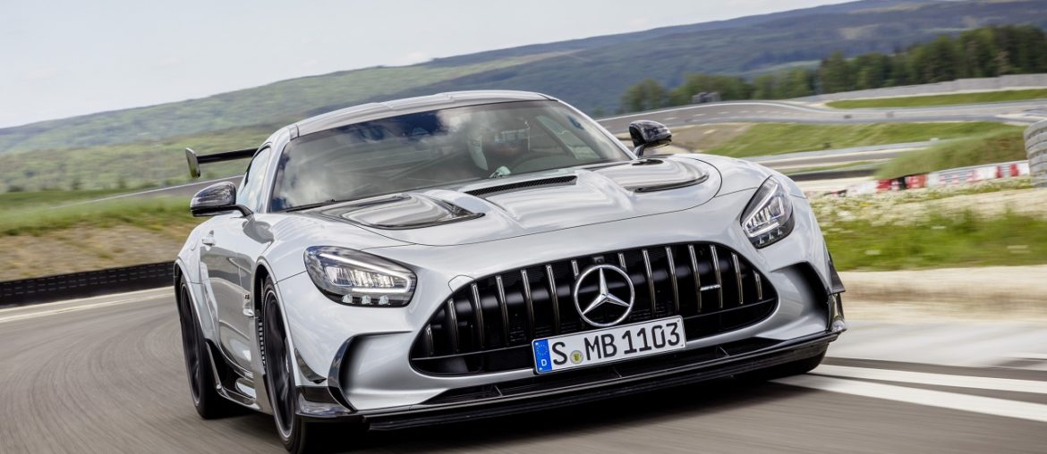 The new Mercedes-AMG GT Black Series: TOP of the AMG GT family