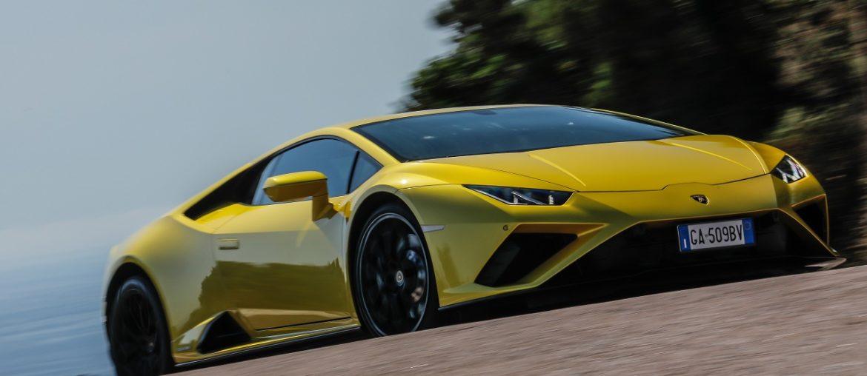 Lamborghini is back to Porto Cervo in Sardinia