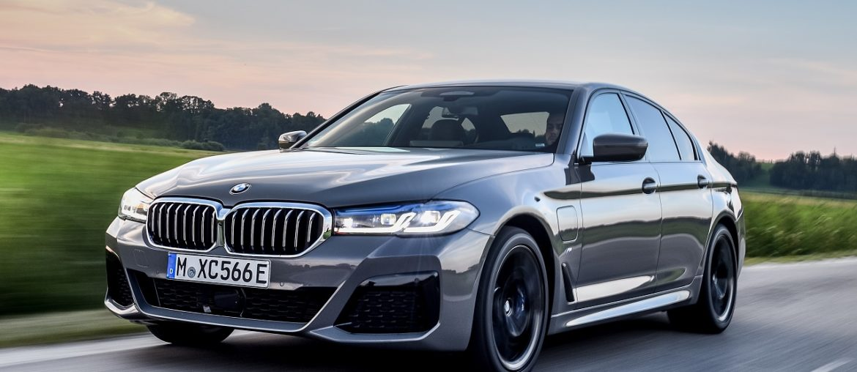 The new BMW 545e xDrive Sedan: Top model in the range of plug-in hybrids