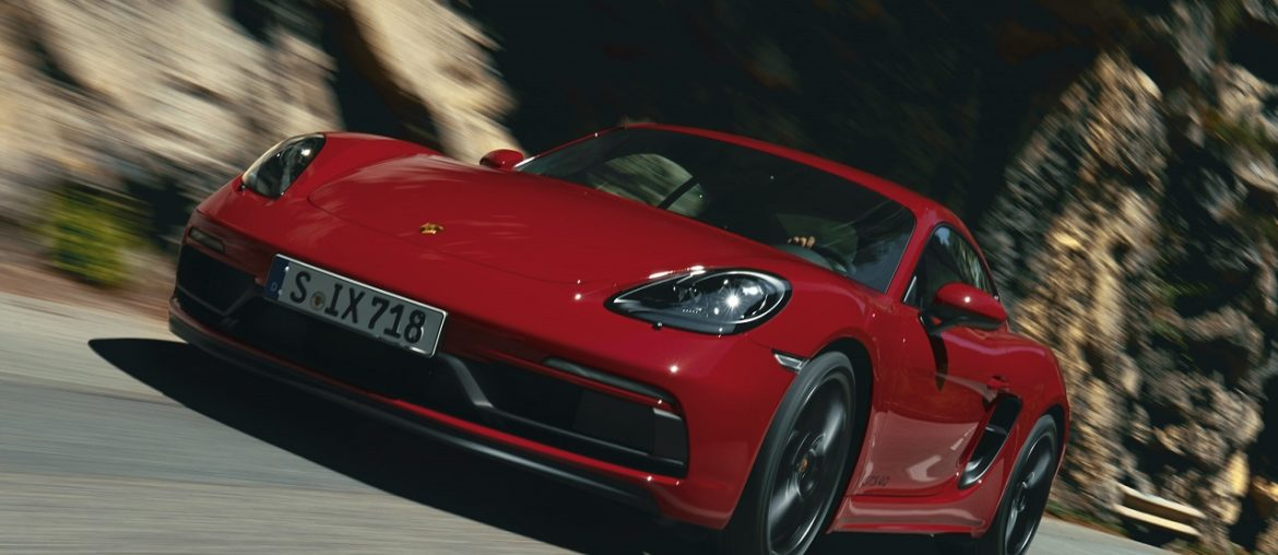 Also 718 models 4.0-litre six-cylinder boxer engines available with Porsche PDK transmission
