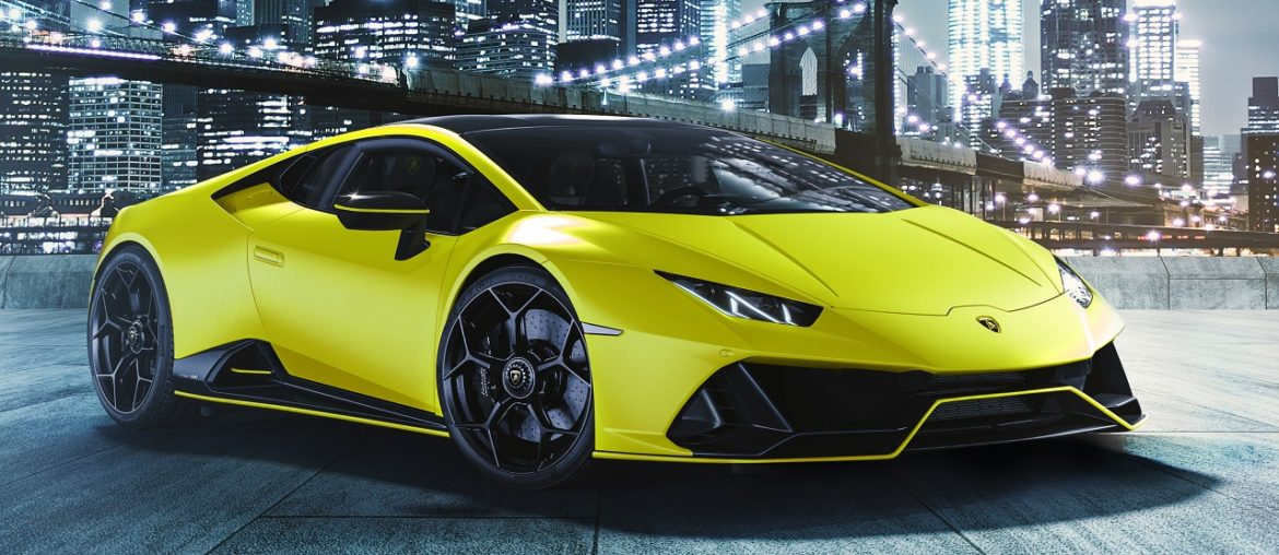 Huracán EVO Fluo Capsule – new striking exterior bicolor collection