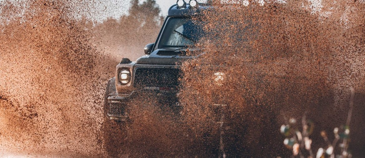 BRABUS 800 ADVENTURE XLP – testing the offroad
