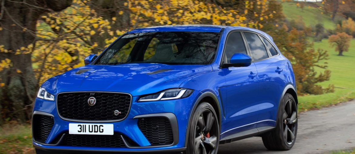 New F-Pace SVR: Faster and luxurious than ever