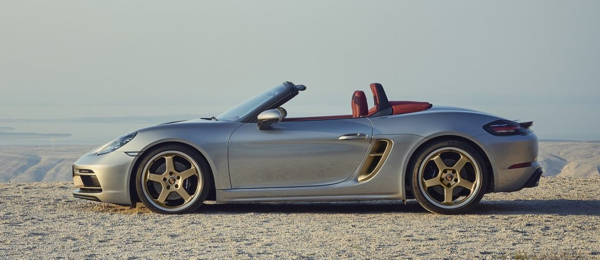Boxster 25 Years: New limited-edition anniversary model