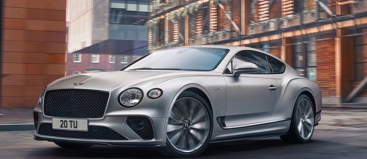 The new Continental GT SPEED: The most performance-focused Bentley ever