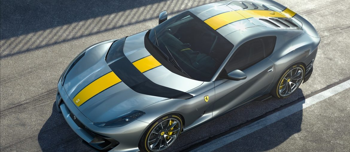 New Ferrari Limited Edition V12: Special version of the 812 Superfast